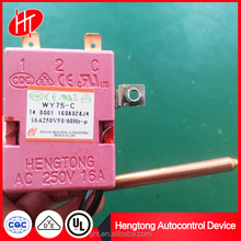 Gas water heater capillary thermostat of WY series