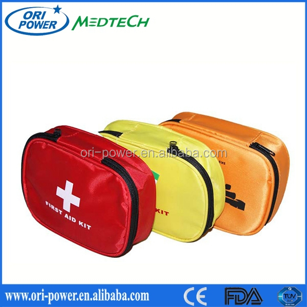 OP manufacture ISO FDA CE approved wholesale fashion oem bicycle auto vehicle emergency kit