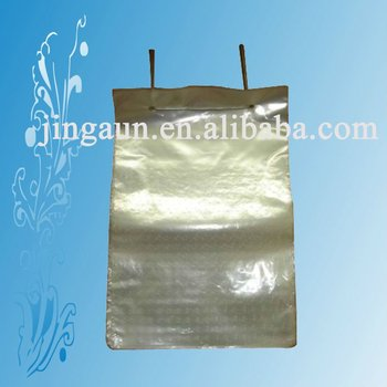clear PP wicketted bag