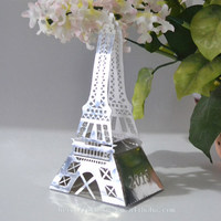 premium gift !hot eiffel tower shaped box 2016 new year gift