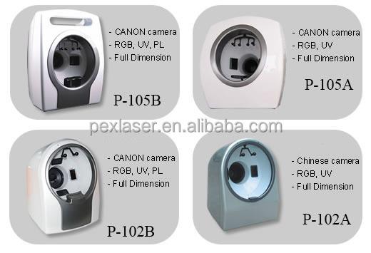 Pex Laser Hot Facial Reveal Imager Skin Analysis 3d Skin Scanner Analyzer / Face analyzer device P-105A