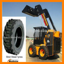 skid steer tire rims 10-16.5 with rim 8.25X16.5 China supplier