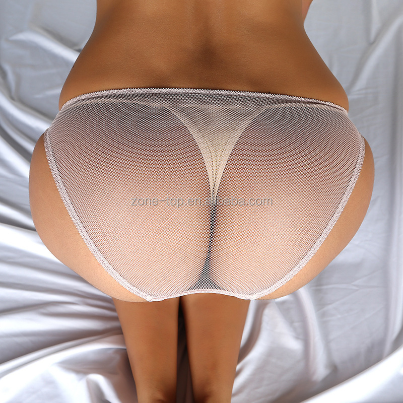 New Style Summer Breathable Mesh Underwear Women Sexy Transparent Panties