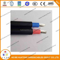 UL certification Photovoltaic solar cable 4mm2 6mm2 10mm2