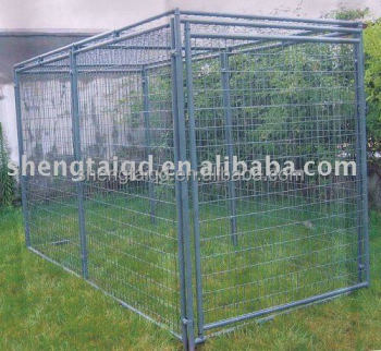 3mx1.5mx1.8m collapsible metal dog cage