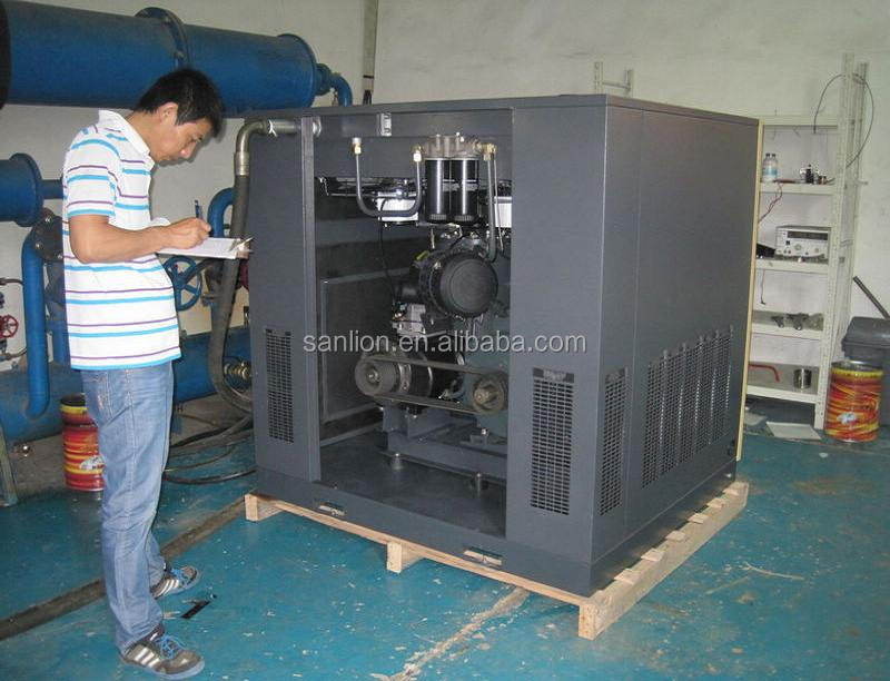 11KW CE Mini Screw Air Compressor Energy Saving 30%