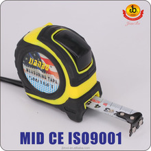 MID, CE,ISO Certificates co-molded Tape measure/3M,5M,7.5M,10M Measuring tape.