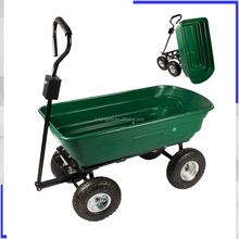 Handy Garden Poly lawn Dump cart