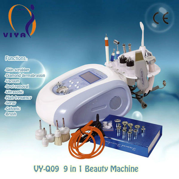 Newest 9 in 1 multifunctional beauty equipment with bio microcurrent <strong>face</strong> lifting