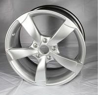 16-20'' hyper silver German car wheel rim with 112 pcd
