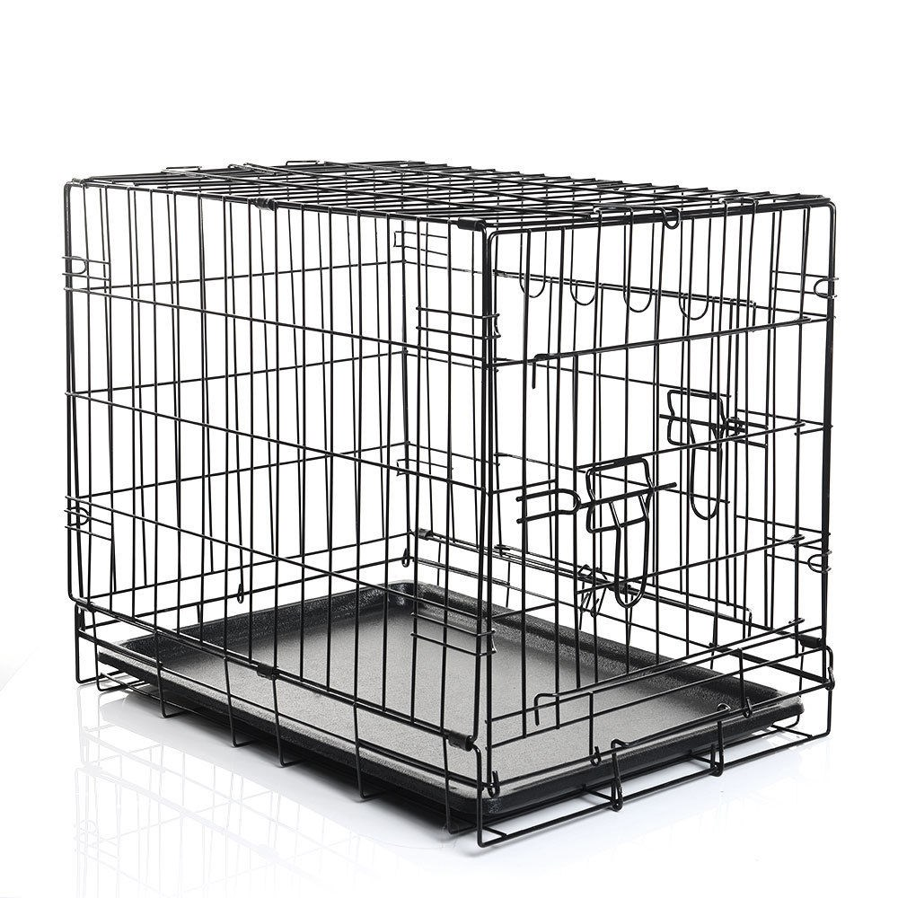New Design Collapsible Metal Dog Crate Cage