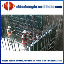 construction building materials, plastic mould concrete, plastic formwork