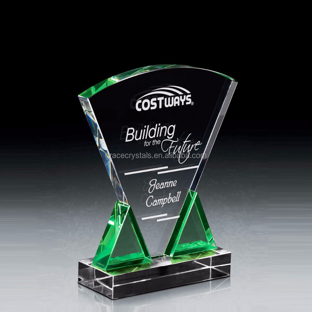 Clear glass engraved personal cheap corporate gifts