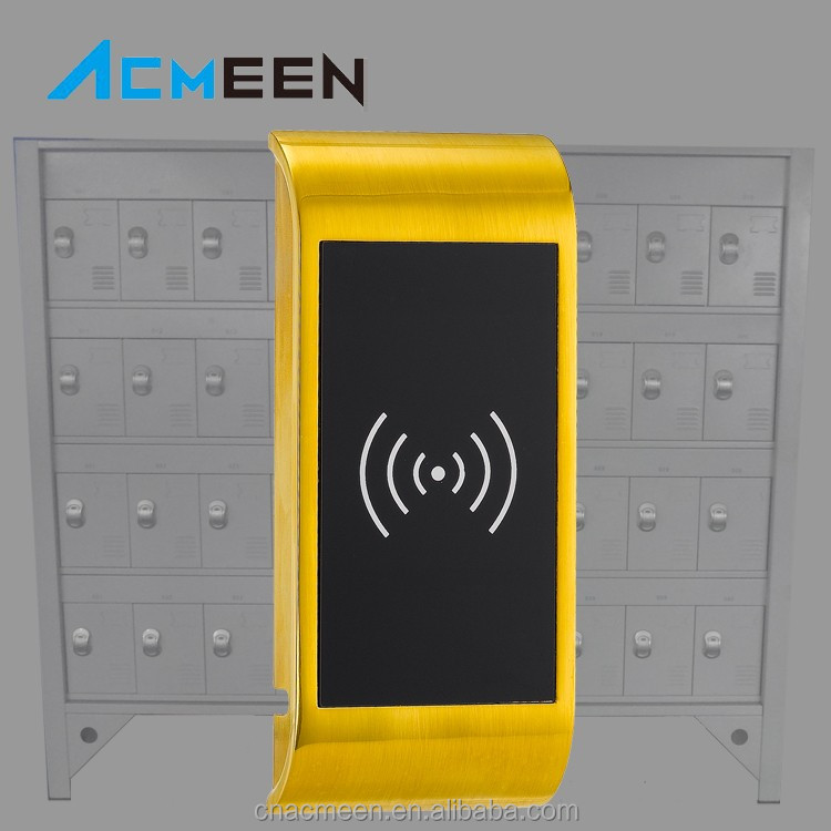 Simple and easy operation smart RFID electronic leisure locker lock