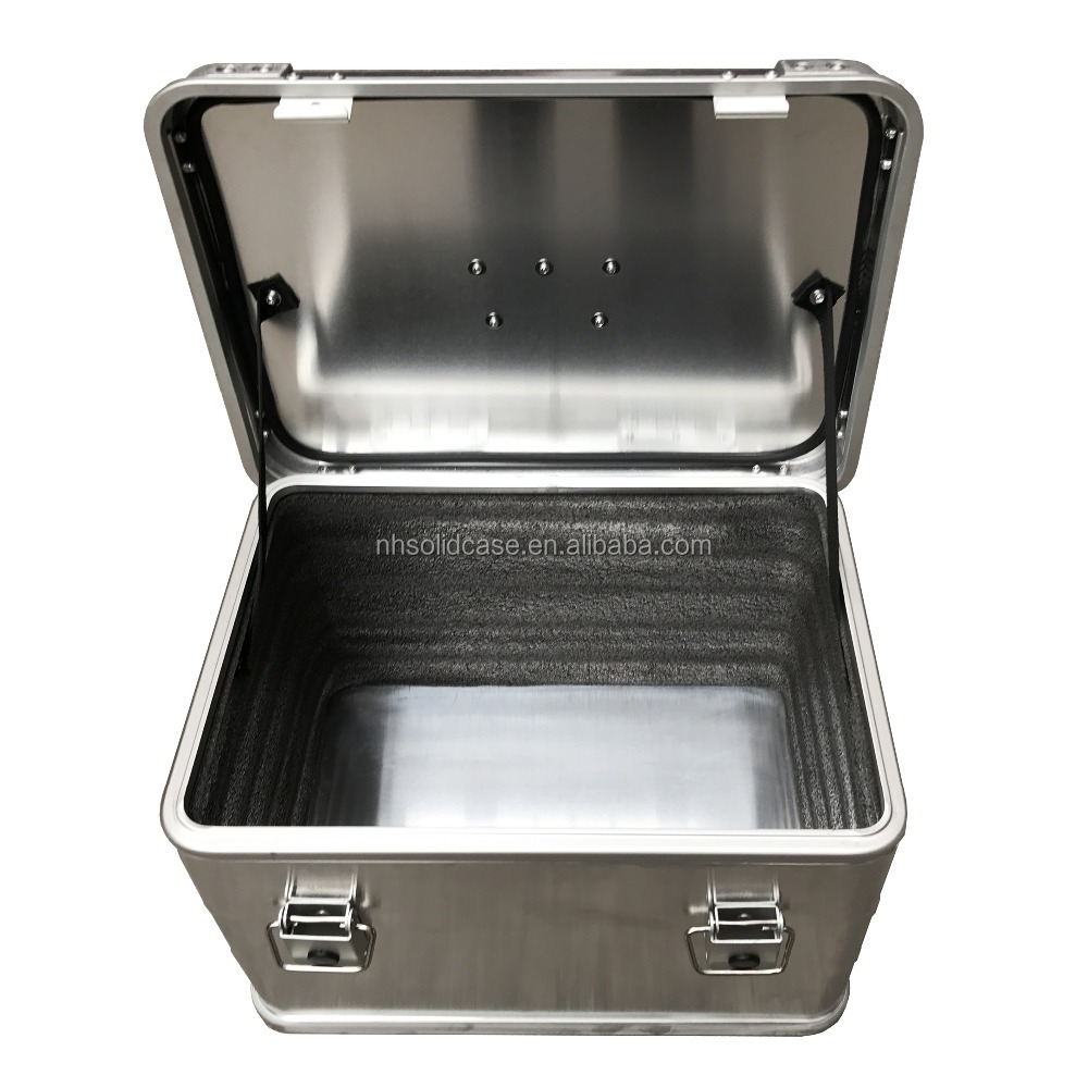 High quality large storage box aluminum tool case