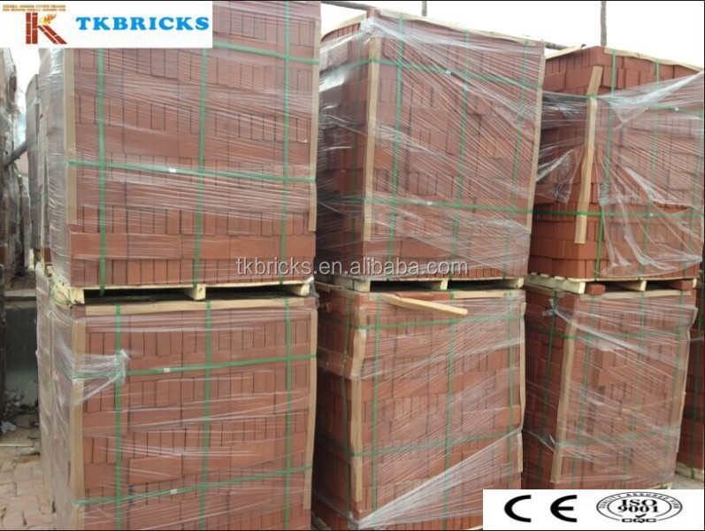 Red Paving Brick, Square Brick, Garden Decoration Brick