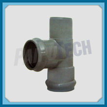 Plastic Pipe Fitting PVC Spigot and Socket Flange Tee
