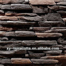wall stone veneer made by rubber molds