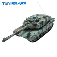 US M1A2 Tank & Germany Tiger Military Tank Toys Play Set Rc Toy Tank