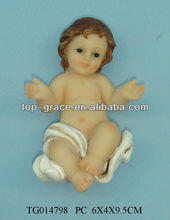 resin baby Jesus figurine resin figure