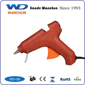 60W Portable Hot Melt Glue Gun with Switch