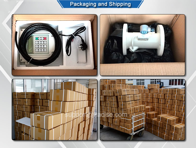 KUFH2000 series handheld portable clamp-on ultrasonic water flow meter