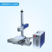 Fiber metal laser etching machine system for sale