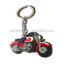 Motorcycle soft PVC KeyChain gifts