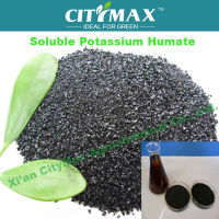 100% Natural Green water soluble potassium fertilizer of humate shiny flakes