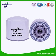 Construction Equipment Auto Parts Oil Filter for New Holland 87800068