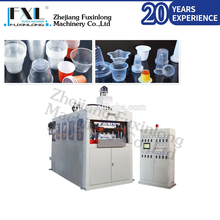 SZ-680II Disposable plastic water cup vacuum forming thermoforming machine