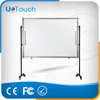 hot sale 70'' 82'' 85'' 92'' 99'' IR interactive whiteboard smart board for school/Infrared touch cheap smart board
