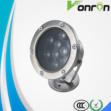 12V 9W Underwater Led Light Lamp IP68 Waterproof RGB Remote control led underwater light