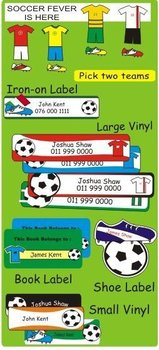 Soccer Pack Labels