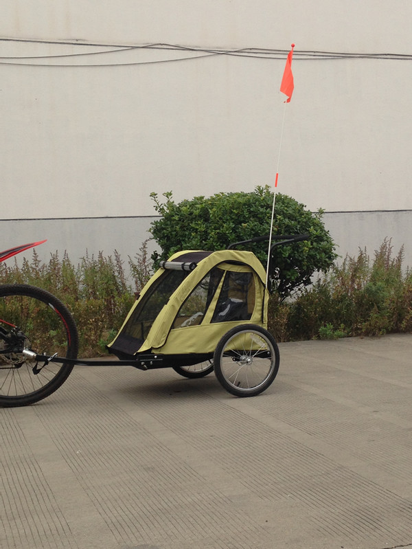 Alloy Bicycle Baby stroller and trailer