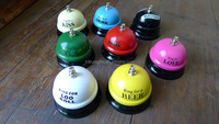 Call Bell, Ring Bell for Desk Kitchen Hotel Counter Reception Restaurant Bar (Random Color and Style)
