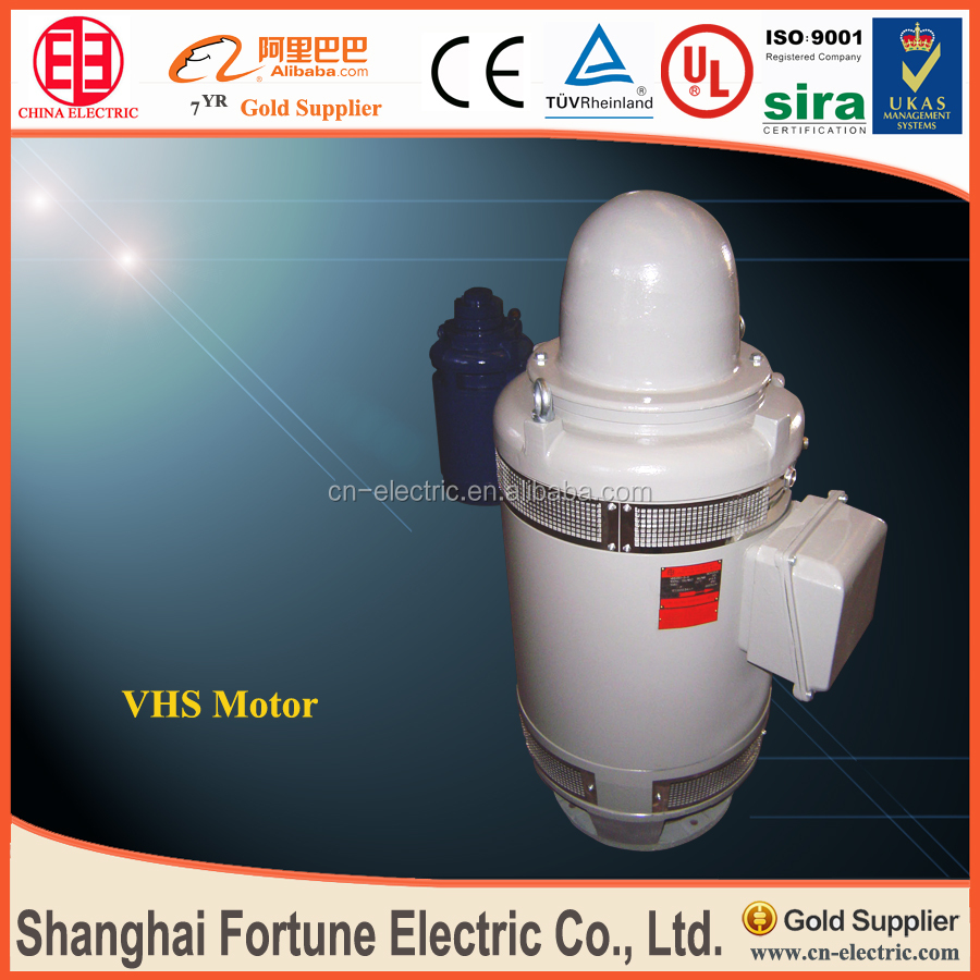 Asynchronous motor for deep well pump for Well pump motor replacement