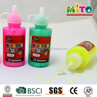 EN-71 safe 60ml glitter glue for children everyday diy