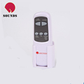 Universal remote control for fan or heater