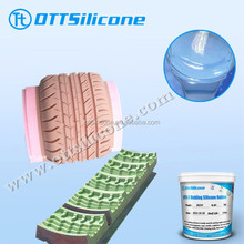 Tire molds casting silicone rubber, RTV2 LSR for tire moulds