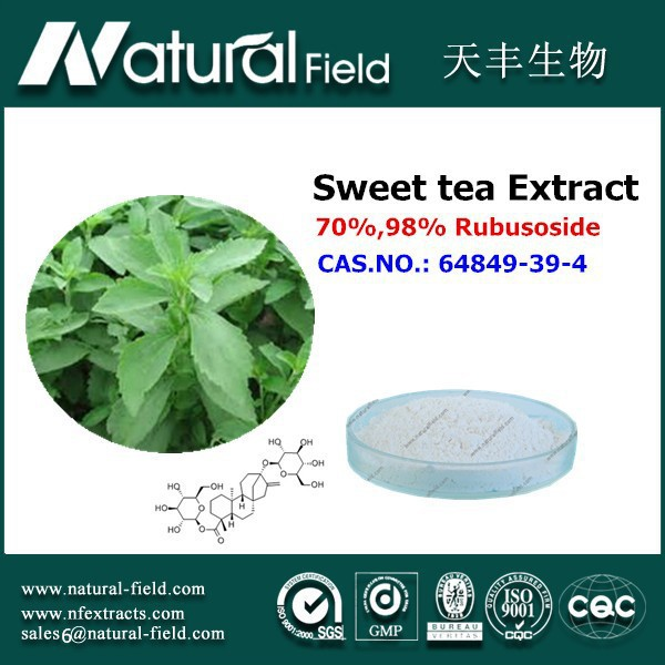 With 12 years experience Best Supplier you can trust herb extract sweet tea leaf extract