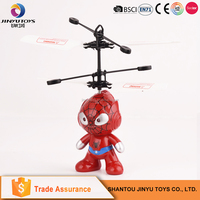 Children toys wholesale infrared induction flying toy helicopter toy for adult
