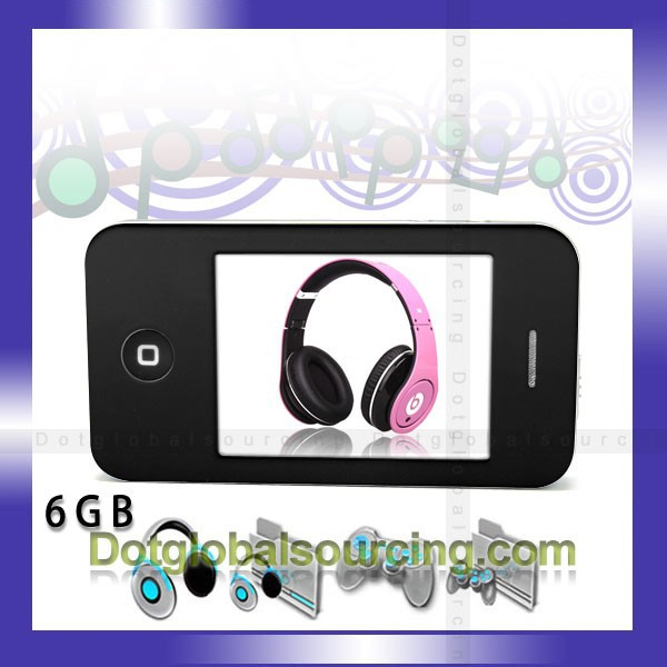 16GB 2.8 inch White/Black digital mp4 game player