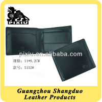 China Manufacture Smart Leather Mens Wallets With Coin Pocket