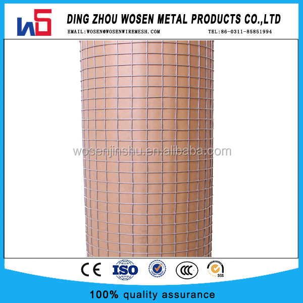 Welded Wire Square Galvanised Aviary Netting Fence Chicken Rabbit Cage