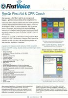 ResQr First Aid & CPR Coach Software