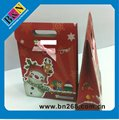 Mini Christmas Gift Paper Pags For Children