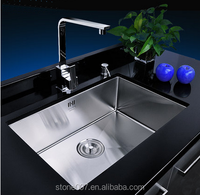 Good quality kitcken stainless steel single bowl wash sink
