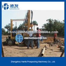 Super Star drill rig in 2012 !!! HF-3 trailer mounted core drilling rig