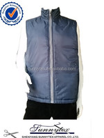Sunnytex outdoor winter padded men sleeveless foftshell winter vest